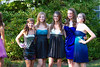 Metea Freshman Homecoming 2010 : My daughter and her group got together for a pre-party prior to the Homecoming dance.