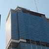 Blue Cross-Blue Shield building addition--25 new floors being stacked on top of the original 32 floors.   Photo by Jim Horton